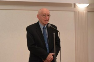 HMU理事・ロジャー・ドウナー先生のスピーチ