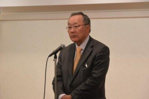 HMU理事・岩尾先生のスピーチ